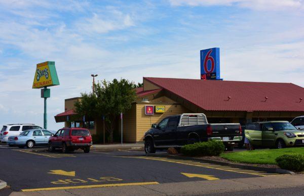 Shari's Restaurant Exterior - Trini Hank